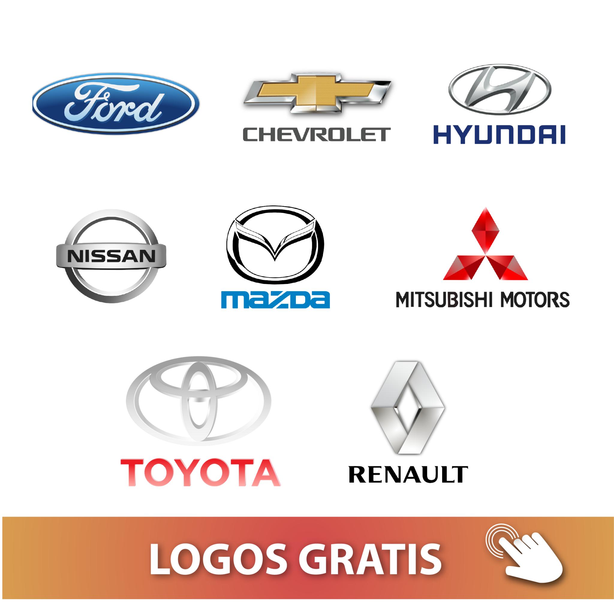 logos de autos gratis para descargar