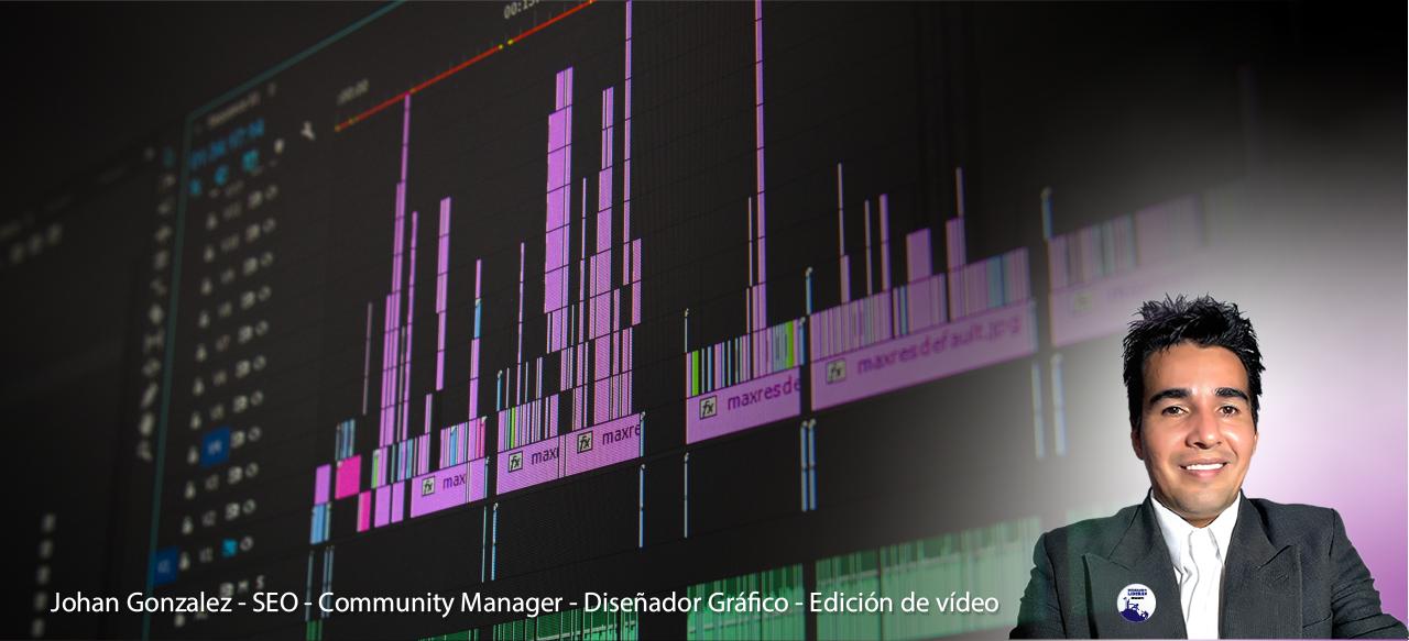 diseñador grafico editor de video